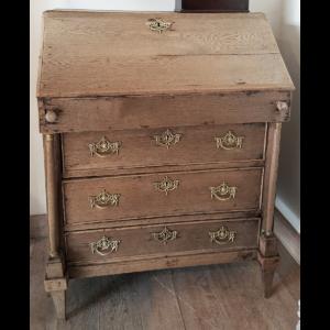 Antique bureau Weathered oak A-KL-005