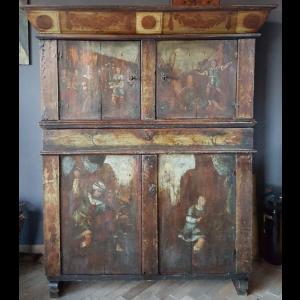 Antique Assendelfter cupboard - A004