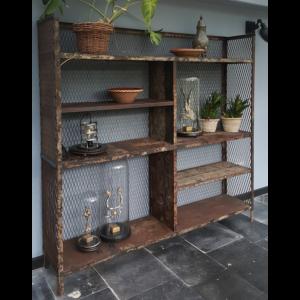 Vintage industrial cabinet IND656
