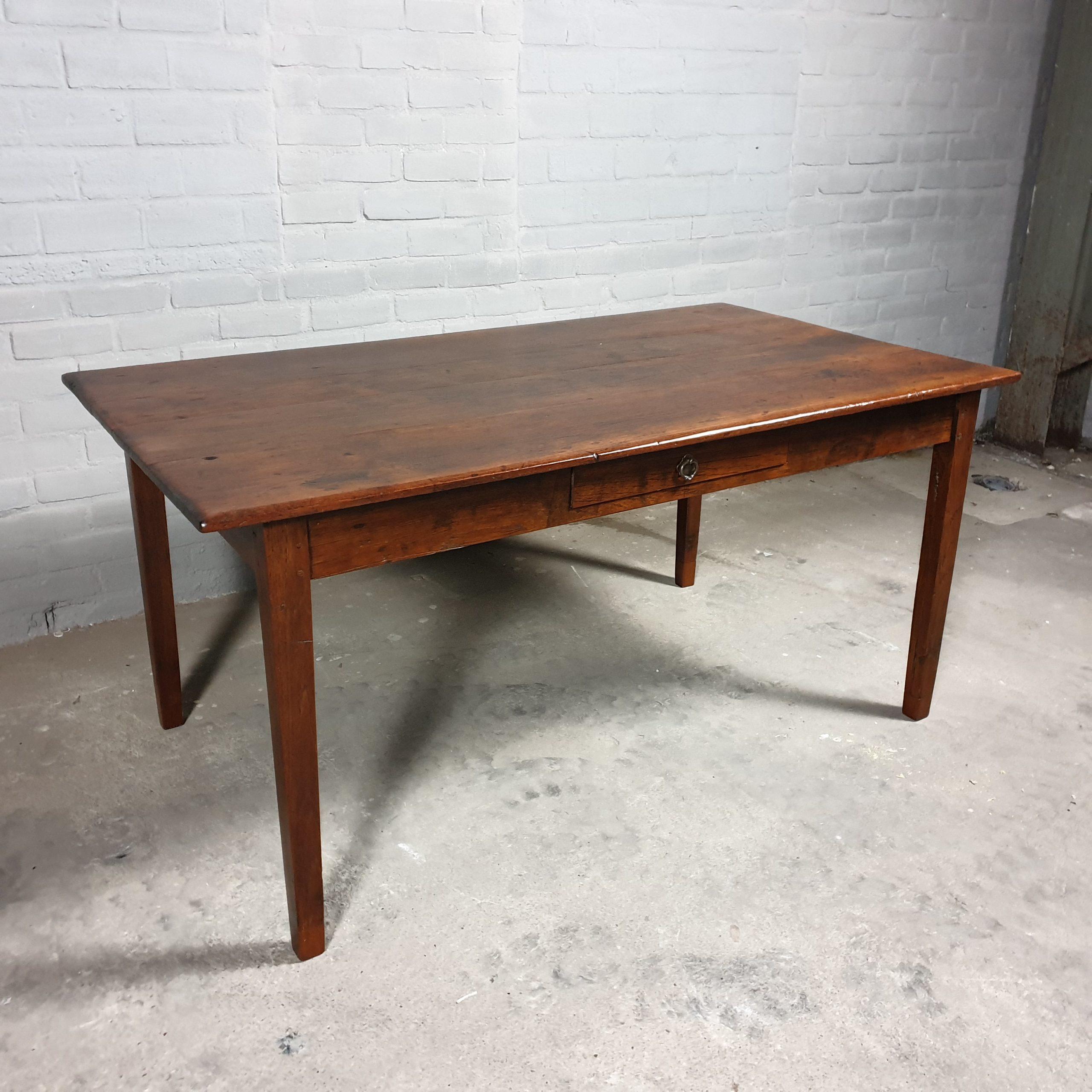 Antique farmhouse table - C027