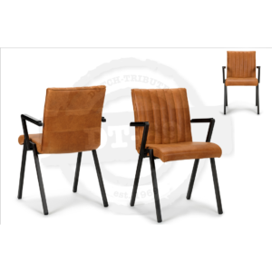 Industrial design chair Line - with arm rests S002