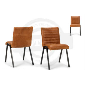 Industrial design chair Stripe - without arm rests S003