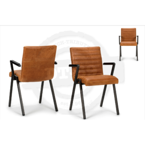 Industrial design chair Stripe - with arm rests S004