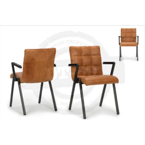 Industrial design chair Check - with arm rests S006