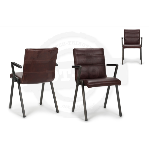Industrial design chair Beam - with arm rests - S008