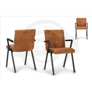 Industrial design chair Framed - with arm rests S012