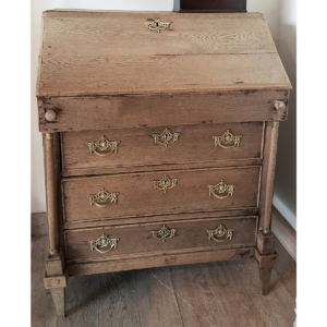 Antique bureau Weathered oak A-KL-005