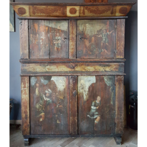 Antique Assendelfter cupboard - A004