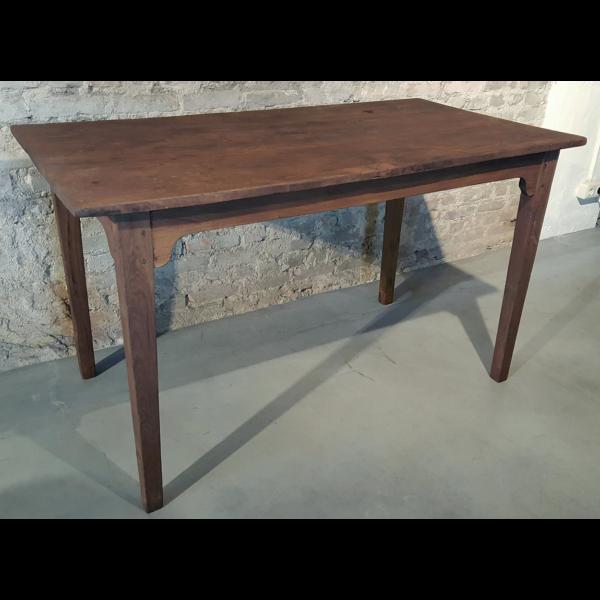 Small antique farmhouse table - C016