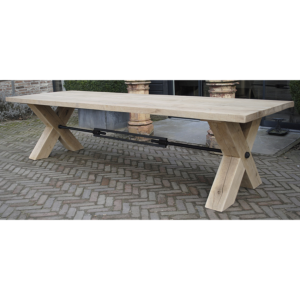 Industrial oak Table Raw G001