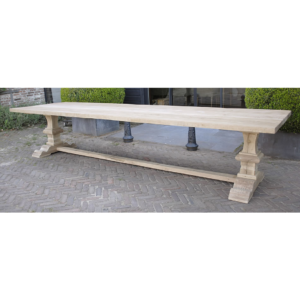 Refectory oak table G004