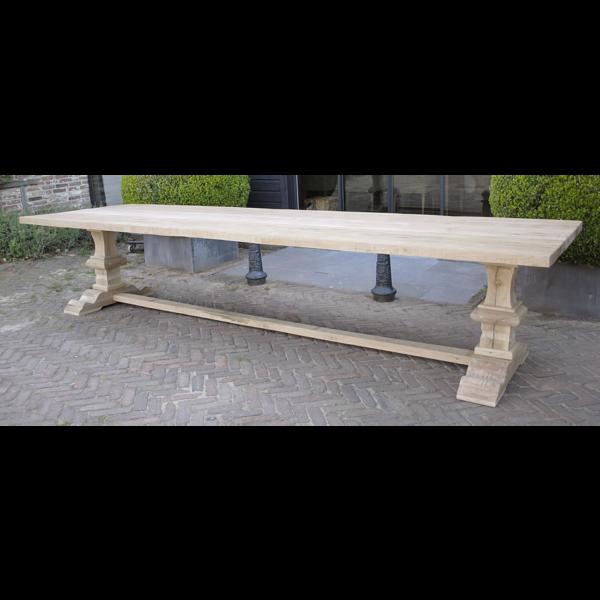 Refectory oak table G004