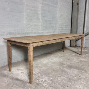 Antique farmhouse table - C035
