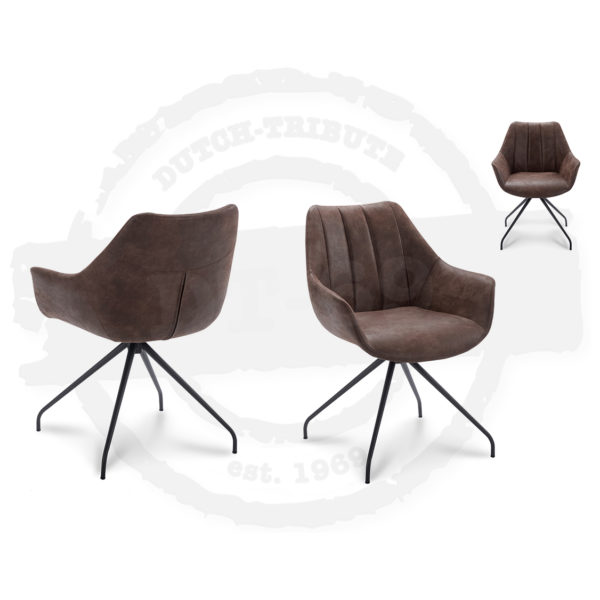 Chair Bud – with arm rests - S026
