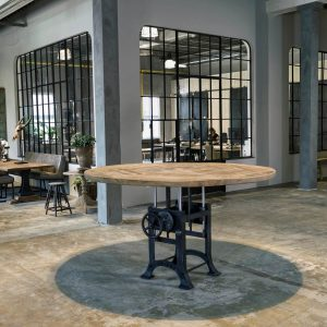 Round-industrial-table-with-a-height-adjustable-crank-base-sunburned-reclaimed-oak-5cm-01