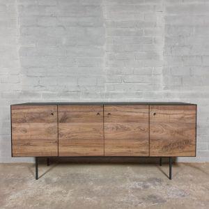 modern-TV-sideboard-walnut-combined-with-steel-d006-01